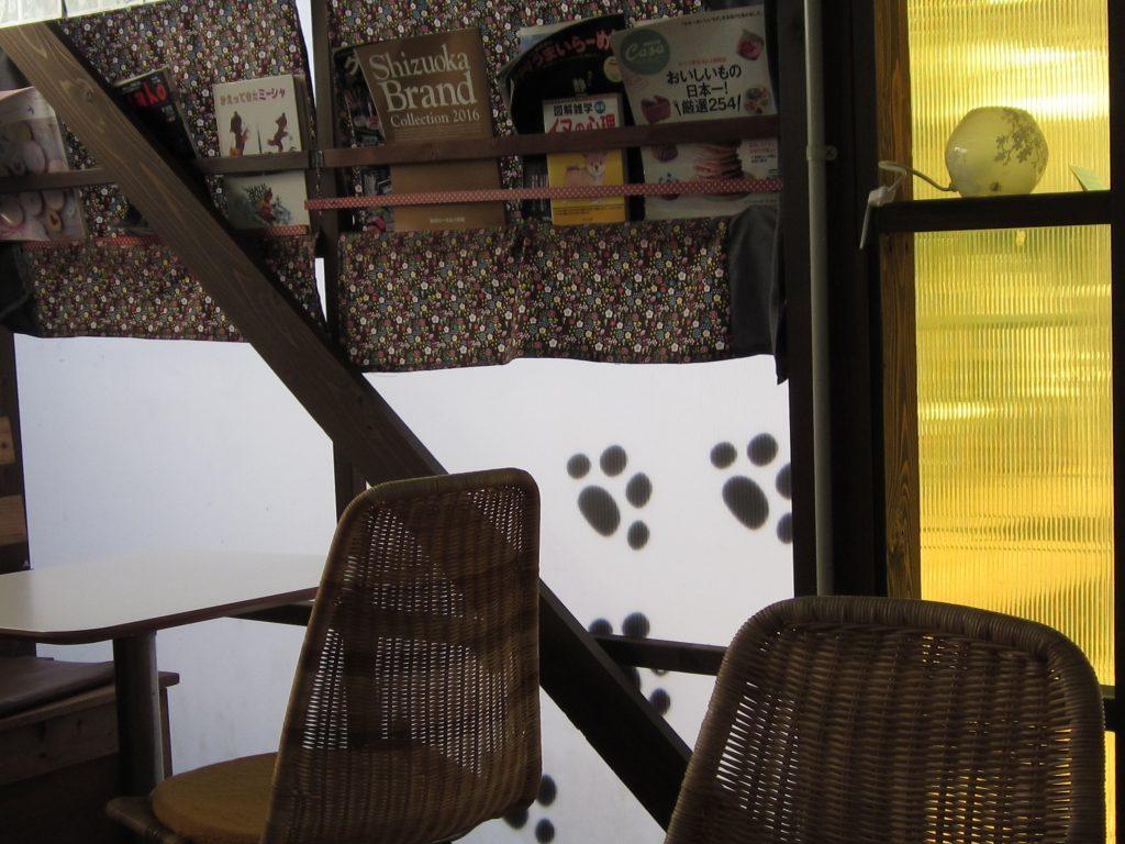ドッグガーデンカフェ クー店内